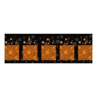 Caja negra de Halloween del extracto alerta Impresiones Fotograficas