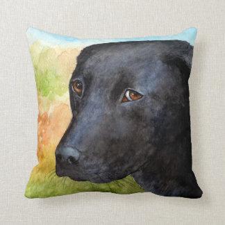 Caja negra de la almohada de Labrador del perro