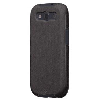 Caja negra de la galaxia S3 de Samsung de la textu Galaxy S3 Cobertura