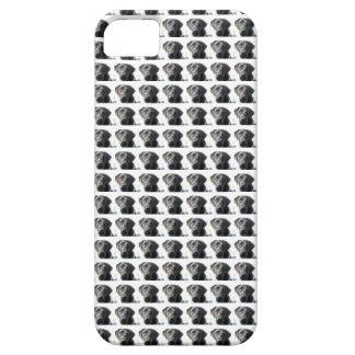 """Caja negra de """"Labradot"""" del laboratorio iPhone 5 Case-Mate Cobertura"""