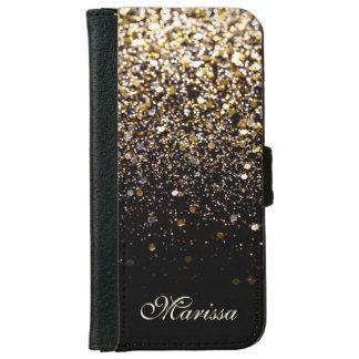 Caja negra de moda del iPhone 6 de la lona del Carcasa De iPhone 6