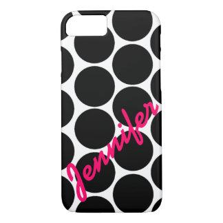 Caja negra de moda del iPhone 7 del modelo de Funda iPhone 7