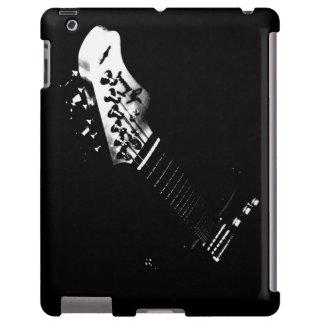 Caja negra del iPad de la guitarra Funda Para iPad