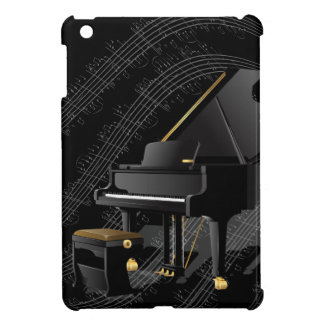 Caja negra del iPad del piano