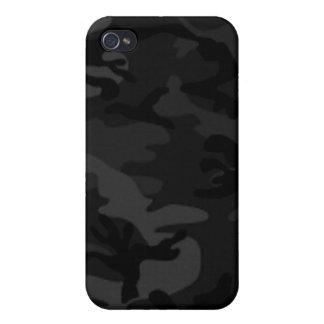 Caja negra del iPhone 4 de Camo iPhone 4 Carcasa