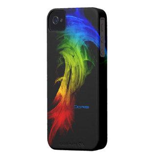Caja negra del iphone 4 de Doris Carcasa Para iPhone 4