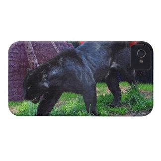 Caja negra del iPhone 4 de la fantasía de Jaguar iPhone 4 Cárcasa
