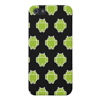 Caja negra del iPhone 4 de los androides iPhone 5 Coberturas