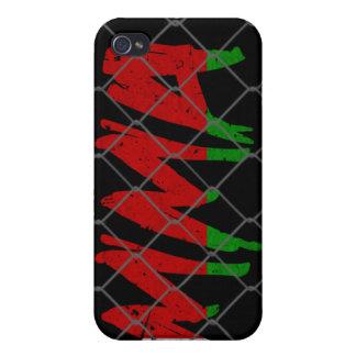 Caja negra del iphone 4 del Muttahida iPhone 4 Carcasa