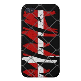 Caja negra del iPhone 4 del Muttahida iPhone 4 Fundas