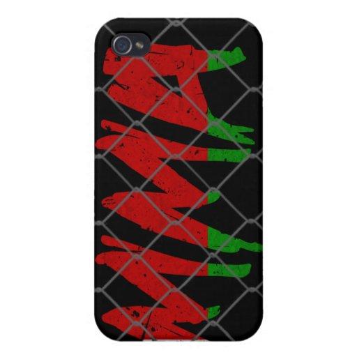 Caja negra del iphone 4 del Muttahida Majlis-E-Ama iPhone 4 Protectores