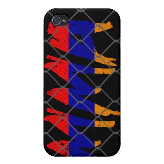 Caja negra del iphone 4g del Muttahida iPhone 4/4S Funda