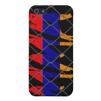 Caja negra del iphone 4g del Muttahida iPhone 5 Fundas