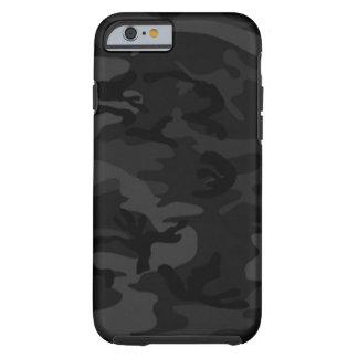 Caja negra del iPhone 6 de Camo Funda De iPhone 6 Tough