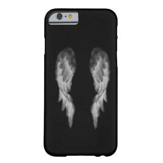 Caja negra del iPhone 6 del ángel Funda De iPhone 6 Barely There