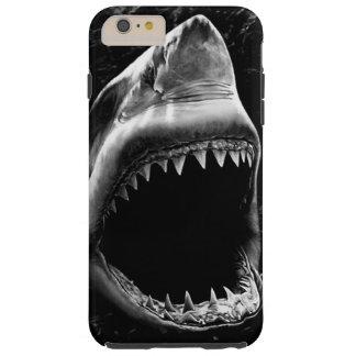 Caja negra del iPhone 6 del tiburón Funda Resistente iPhone 6 Plus