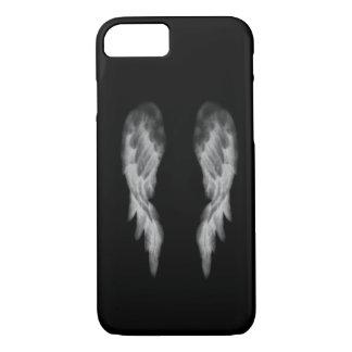 Caja negra del iPhone 7 del ángel Funda iPhone 7