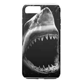 Caja negra del iPhone 7 del tiburón Funda iPhone 7 Plus