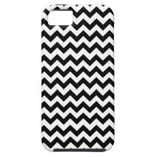 Caja negra del iPhone de Chevron iPhone 5 Case-Mate Protector
