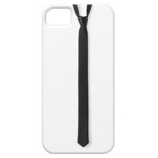 Caja negra del iPhone de la corbata iPhone 5 Carcasas