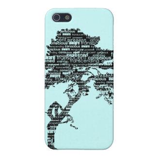 Caja negra del iPhone del árbol 4/4S de Bodhi iPhone 5 Carcasa
