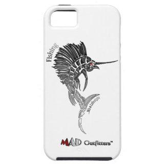 Caja negra del teléfono del pez volador iPhone 5 coberturas