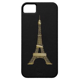 Caja negra francesa del iPhone 5/5S de la torre iPhone 5 Carcasas