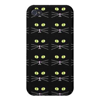 Caja negra fresca de Catz Iphone iPhone 4/4S Carcasas