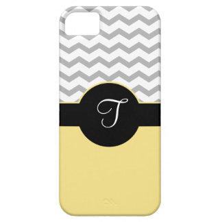 Caja negra gris del amarillo iPhone5 del diseño de iPhone 5 Carcasas