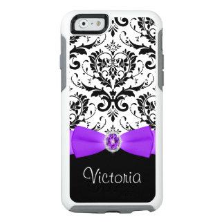 Caja negra púrpura del iPhone 6/6s de Otterbox del Funda Otterbox Para iPhone 6/6s