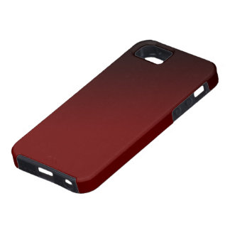 Caja negra roja de Iphone 5 de la pendiente iPhone 5 Case-Mate Funda