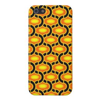 Caja negra y amarilla de IPhone iPhone 5 Funda