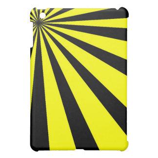 Caja negra y amarilla del iPad del vórtice