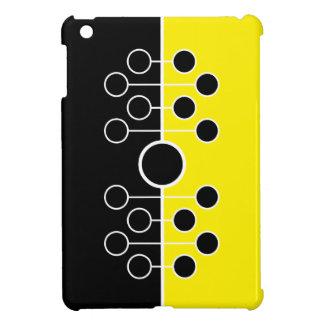 caja negra y amarilla del iPad