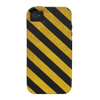 Caja negra y amarilla del iPhone del modelo de la iPhone 4/4S Carcasa