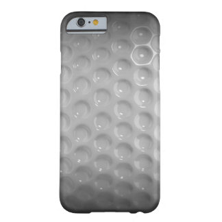 Caja negra y blanca de la pelota de golf clásica funda barely there iPhone 6