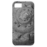 caja negra y blanca del iphone 5 del seashell iPhone 5 cárcasas