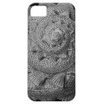 caja negra y blanca del iphone 5 del seashell iPhone 5 Case-Mate cárcasas