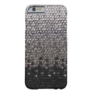 Caja negra y de plata del iPhone 6 del brillo del