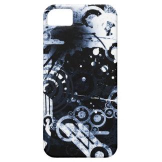 Caja negra y del blanco I del teléfono iPhone 5 Carcasa