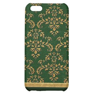Caja negra y verde del iPhone 4 4S del damasco