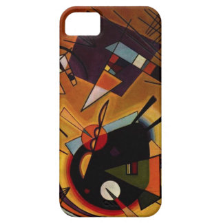 Caja negra y violeta de Kandinsky del iPhone 5 iPhone 5 Case-Mate Cárcasa