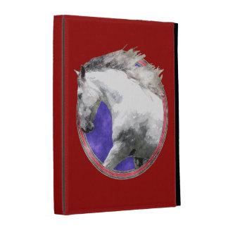 Caja NOBLE del folio del iPad del CABALLO