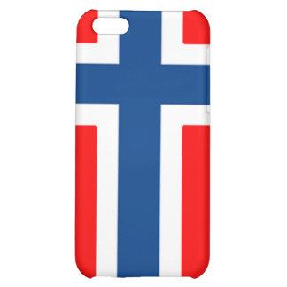 Caja noruega de la bandera