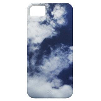 Caja nublada del teléfono de la tormenta iPhone 5 fundas