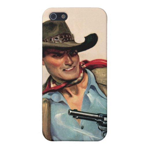 Caja occidental de la mota del iPhone de la arena iPhone 5 Funda