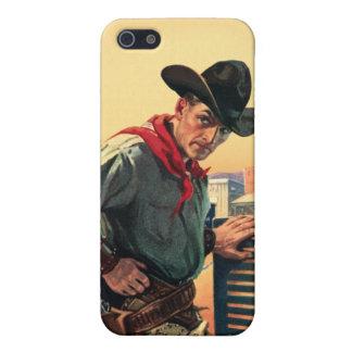 Caja occidental de la mota del iPhone de la salida iPhone 5 Fundas