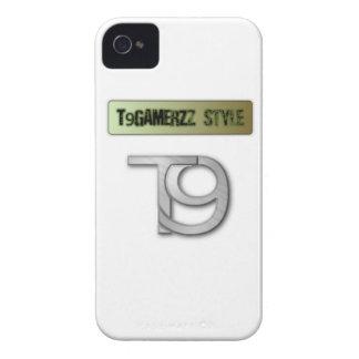 Caja oficial de la zarzamora de T9GAMERZz iPhone 4 Cárcasas