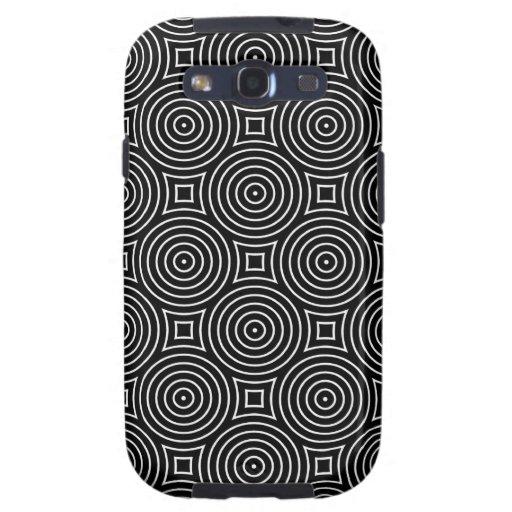 Caja óptica geométrica de la galaxia S3 de Samsung Galaxy S3 Carcasas