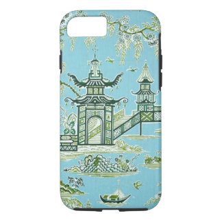 Caja oriental azul y blanca del iPhone 7 del Funda iPhone 7